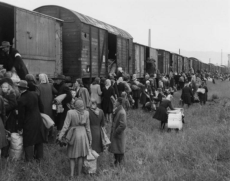 Flüchtlinge und Vertriebene